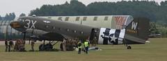 N47TB 292847 C47A EGSU 050619 (kitmasterbloke) Tags: egsu duxford daksoverduxford dc3 douglas c47 c53 aircraft airliner propliner ww2 dday