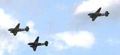 Skytrain flight (kitmasterbloke) Tags: egsu duxford daksoverduxford dc3 douglas c47 c53 aircraft airliner propliner ww2 dday
