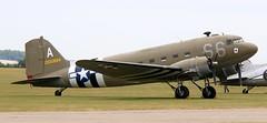 2100884 EGSU 050619 (kitmasterbloke) Tags: egsu duxford daksoverduxford dc3 douglas c47 c53 aircraft airliner propliner ww2 dday