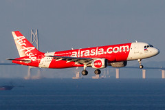 PHILIPPINES AIR ASIA A320-214 RP-C3228 001 (A.S. Kevin N.V.M.M. Chung) Tags: aviation aircraft aeroplane airport airlines airbus a320series mfm macauinternationalairport spotting plane landing approach arrival sea ocean