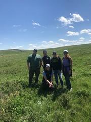 KEPA Summit 2019 (Oldman Watershed) Tags: kepa shannonfrank rebekkah sydney mikebruisedhead jannacasson dwaynerogness grass prairie bluesky wildflowers outreach assistants