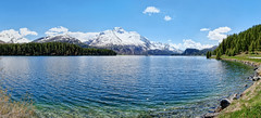 Silsersee mit Piz da la Margna (4.13 Photo) Tags: lake mountainlake mountains bergsee engadin swiss suisse schweiz nature natur landscape
