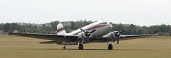 N103NA DC3 EGSU 050619 (kitmasterbloke) Tags: egsu duxford daksoverduxford dc3 douglas c47 c53 aircraft airliner propliner ww2 dday
