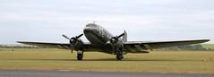 N62CC DC3 EGSU 050619 (kitmasterbloke) Tags: egsu duxford daksoverduxford dc3 douglas c47 c53 aircraft airliner propliner ww2 dday