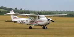 G-BKIJ EGSU 050619 (kitmasterbloke) Tags: egsu duxford daksoverduxford dc3 douglas c47 c53 aircraft airliner propliner ww2 dday