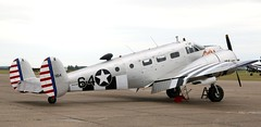 G-BKGL EGSU 040619 (kitmasterbloke) Tags: egsu duxford daksoverduxford dc3 douglas c47 c53 aircraft airliner propliner ww2 dday