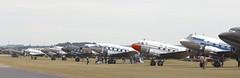 Daks on field EGSU (kitmasterbloke) Tags: egsu duxford daksoverduxford dc3 douglas c47 c53 aircraft airliner propliner ww2 dday