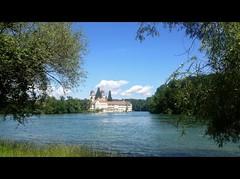 ViaRhenana 25 (Beat09) Tags: schweiz switzerland suisse rhein rhine rheinufer viarhenana rheinau klosterkirche