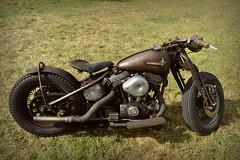Rusty Bob.. (Harleynik Rides Again.) Tags: harleynikridesagain sportster rat bobber bike moto harleydavidson rust patina dirty motorcycle