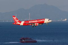 PHILIPPINES AIR ASIA A320-214 RP-C3228 002 (A.S. Kevin N.V.M.M. Chung) Tags: aviation aircraft aeroplane airport airlines airbus a320series mfm macauinternationalairport spotting plane landing approach arrival sea ocean
