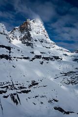 Snow, Wind, Light (ellieupson) Tags: snow wind light canmore canada alberta mountain banff nationalpark blue white rock