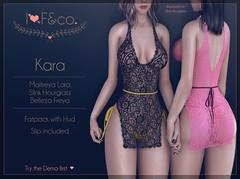 Kara (Ainadara Resident) Tags: i3f i3fco maitreya fashion original mesh event exclusive slink hourglass belleza freya kinky lace dress slip