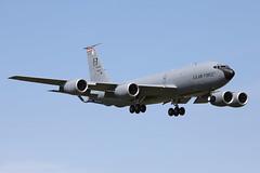 USAF KC-135R Stratotanker (nickchalloner) Tags: 571493 d boeing kc135 kc135r stratotanker 100 100th air refuelling wing arw bloody hundredth raf mildenhall royal force mhz egun usaf usafe united states america