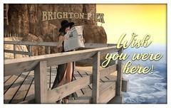 Wish you were here (Hogwarts Mischief Managed) Tags: secondlife secondlifemischiefmanaged mischiefmanaged secondliferoleplay roleplay hogwartsmischiefmanaged harrypotter wizardingworldofharrypotter hogsmeade diagonalley summer brightonbay beach fun hogwarts