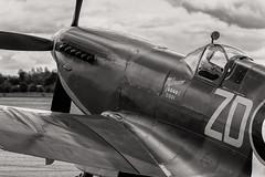 MH434 Supermarine Spitfire MkIX (amisbk196) Tags: airfield aircraft dday dday75 flickr amis aviation unitedkingdom daksoverduxford 2019 uk duxford mh434 supermarine spitfire mkix