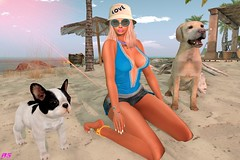 Puppies Who Comes? (alexandra sunny) Tags: adorsy ohemo bishesinc cosmopolitanevent vintagefairevent rallytorescueevent secondlife blog blogger fashion landscape catwa maitreya aviglam sintiklia