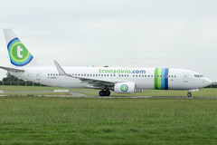 F-GZHL | Transavia France | Boeing B737-8K2(WL) | CN 37791 | Built 2014 | DUB/EIDW 17/05/2019 (Mick Planespotter) Tags: aircraft airport 2019 nik sharpenerpro3 fgzhl transavia france boeing b7378k2wl 37791 2014 dub eidw 17052019 b737 dublinairport collinstown