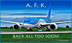 Away From Keyboard (© Freddie) Tags: afk awayfromkeyboard gtuie b787 b788 dreamliner milesofsmiles tui thomson fjroll ©freddie