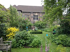 The other courtyards at the Charterhouse are not usually open to visitors (photo by Valerie Schreiner)