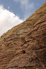 snowfall. (stevenbley) Tags: redrock redrockcanyon lasvegas nevada nv lvnv rocks mountains bluesky