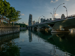 Golden hour around Singapore (Thanathip Moolvong) Tags: golden hour morning leica dlux 109 singapore