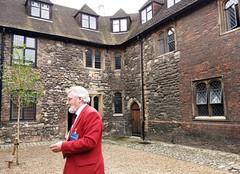 Wash House Court is the oldest of the Charterhouse's courtyards (photo by Valerie Schreinerlerie Schreiner)