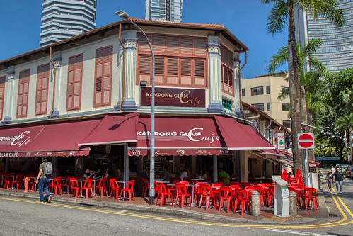 Kampong Glam Cafe in Singapore