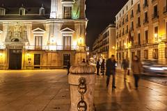 Plaza de la Villa y Corte (2) (lebeauserge.es) Tags: madrid españa noche calle plaza centro ciudad edificio