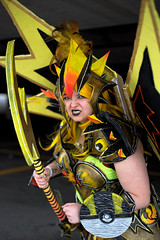 19-05-25_Anime_North-33 (kookabrophoto) Tags: pokémon legendary bird warrior zapdos cosplay