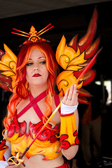 19-05-25_Anime_North-6 (kookabrophoto) Tags: pokémon legendary bird red mage moltres cosplay