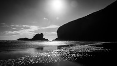 Wigmore Bay (Stefan Marks) Tags: raeakiakipoint tasmansea wigmorebay bay beach cloud headland nature ocean outdoor sand sky aucklandwaitakere northisland newzealand