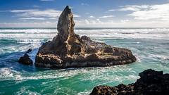 Raeakiaki Point (Stefan Marks) Tags: raeakiakipoint tasmansea cloud headland nature ocean outdoor rock sky wave aucklandwaitakere northisland newzealand