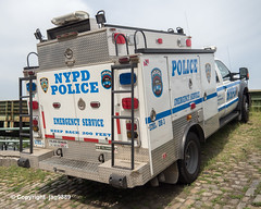 NYPD Police Emergency Service Squad Vehicle, Henry Hudson Parkway, New York City (jag9889) Tags: auto nyc newyorkcity usa ny newyork ford ess car sign truck automobile unitedstates outdoor manhattan text unitedstatesofamerica nypd transportation policecar vehicle lawenforcement patrol finest henryhudsonparkway wahi 2019 uppermanhattan firstresponder policedepartment newyorkcitypolicedepartment policepatrolcar emergencyservicesquad 20190607 washingtonheights jag9889 road