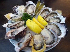 Twelve Apostles (knightbefore_99) Tags: vancouver eastvan commercialdrive tasty awesome oyster bar harbour bc thedrive twelve dozen best lemon shell apostle seafood horseradish
