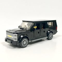 Chevrolet Suburban (wooootles) Tags: lego moc legomoc suv legosuv truck chevrolet chevy suburban ltz 4wd 6wide fullsize v8