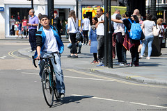Everyday People (Rick & Bart) Tags: everydaypeople people london uk city urban rickvink rickbart canon eos70d transport bicycle bike guy man male stranger candid streetphotography