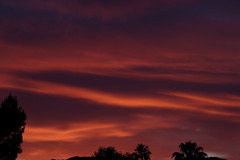 Sunset 5 5 19 #06 (Az Skies Photography) Tags: sun set sunset dusk twilight nightfall sky skyline skyscape scottsdale arizona az scottsdaleaz arizonasky arizonasunset red orange yellow gold golden salmon black may 5 2019 may52019 5519 552019 canon eos 80d canoneos80d eos80d canon80d arizonaskyscape arizonaskyline