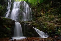 Koleshino waterfall (J.u.l.i.u.s.) Tags: nature new water wasser waterfall waterfalls explore inexplore landscape landscapes forest