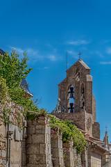 MORELLA (juan carlos luna monfort) Tags: iglesia campanario campana cieloazul hdr castellon nikond810 nikon24120 calma paz tranquilidad