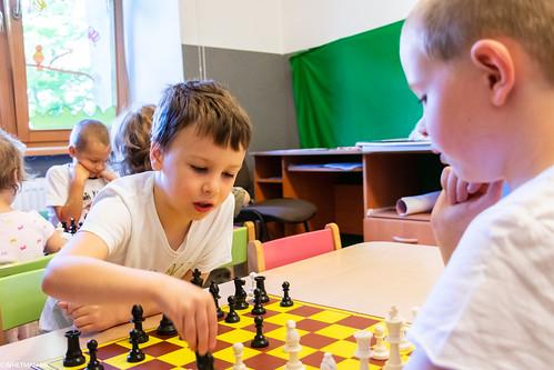 V Szachowe Mistrzostwa Przedszkola Abracadabra Jagiellońska-32