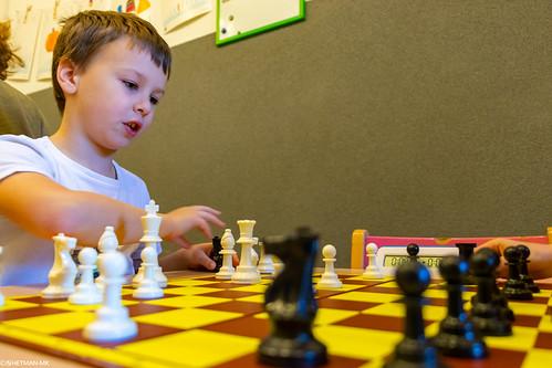 V Szachowe Mistrzostwa Przedszkola Abracadabra Jagiellońska-17