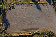 Evidence of Donuts (BeerAndLoathing) Tags: aerialphotography usa rp newmexicotrip canon albuquerque rainbowryders roadtrip trips aerial balloonride hotairballoon canonef1740mmf4lusm canoneosrp spring newmexico 2019 nm april