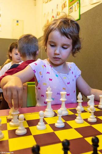 V Szachowe Mistrzostwa Przedszkola Abracadabra Jagiellońska-14