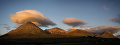 Red Cuillin sunset (cliveg004) Tags: redcuillin glamaig beinndeargmhor beinndeargmheadhonach garbhbheinn marsco skye sligachan mountains clouds sky scotland isleofskye anteileansgitheanach goldenhour sunset panorama landscape magical nikon d5200