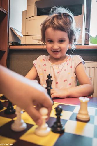 V Szachowe Mistrzostwa Przedszkola Abracadabra Jagiellońska-8