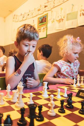 V Szachowe Mistrzostwa Przedszkola Abracadabra Jagiellońska-7