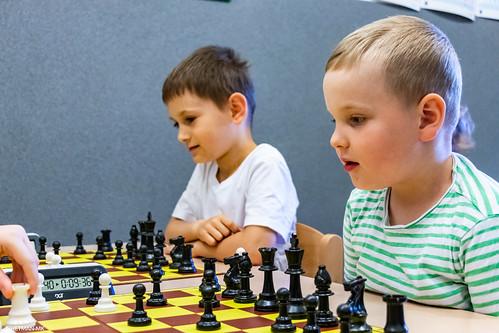 V Szachowe Mistrzostwa Przedszkola Abracadabra Jagiellońska-1