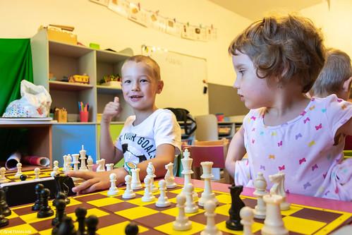 V Szachowe Mistrzostwa Przedszkola Abracadabra Jagiellońska-25