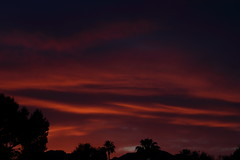 Sunset 5 5 19 #04 (Az Skies Photography) Tags: sun set sunset dusk twilight nightfall sky skyline skyscape scottsdale arizona az scottsdaleaz arizonasky arizonasunset red orange yellow gold golden salmon black may 5 2019 may52019 5519 552019 canon eos 80d canoneos80d eos80d canon80d arizonaskyscape arizonaskyline