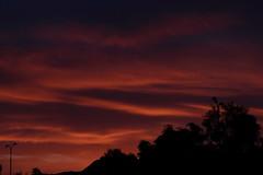 Sunset 5 5 19 #03 (Az Skies Photography) Tags: sun set sunset dusk twilight nightfall sky skyline skyscape scottsdale arizona az scottsdaleaz arizonasky arizonasunset red orange yellow gold golden salmon black may 5 2019 may52019 5519 552019 canon eos 80d canoneos80d eos80d canon80d arizonaskyscape arizonaskyline